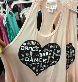 Heart Dance Youth Racerback K5400