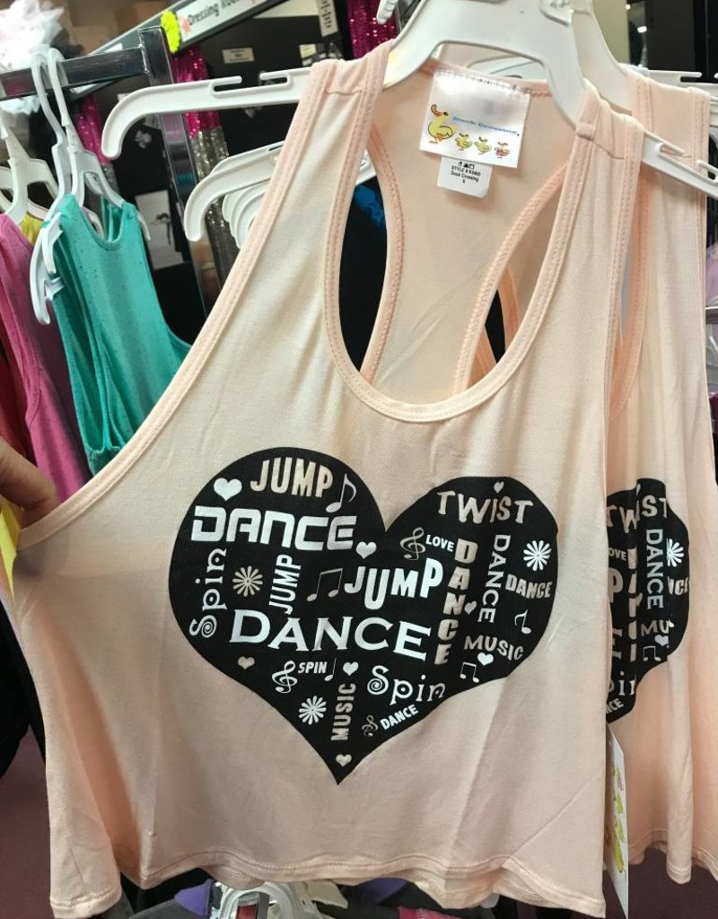 1e4a46c09ece Heart Dance Youth Racerback K5400 - Encore Dancewear
