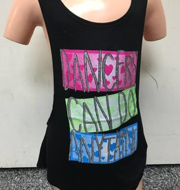 """Dancers can..."" Tank K5404"