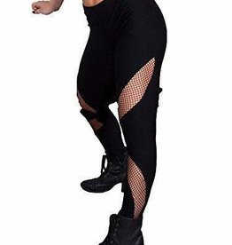 Funky Diva Fishnet Insert Leggings 0238