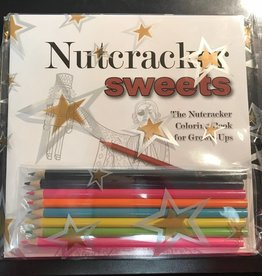 Nutcracker Sweets Coloring Book w pencils