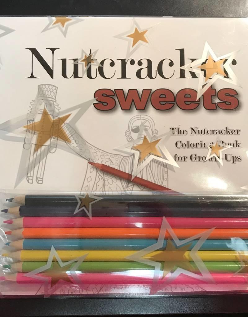 Nutcracker Sweets Coloring Book w pencils