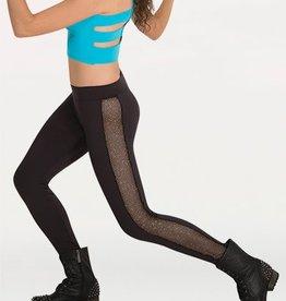 Body Wrappers Girls Glitter Mesh Legging K152 / 3272