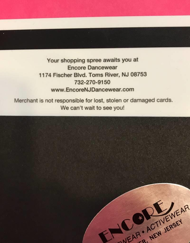 Encore Gift Card