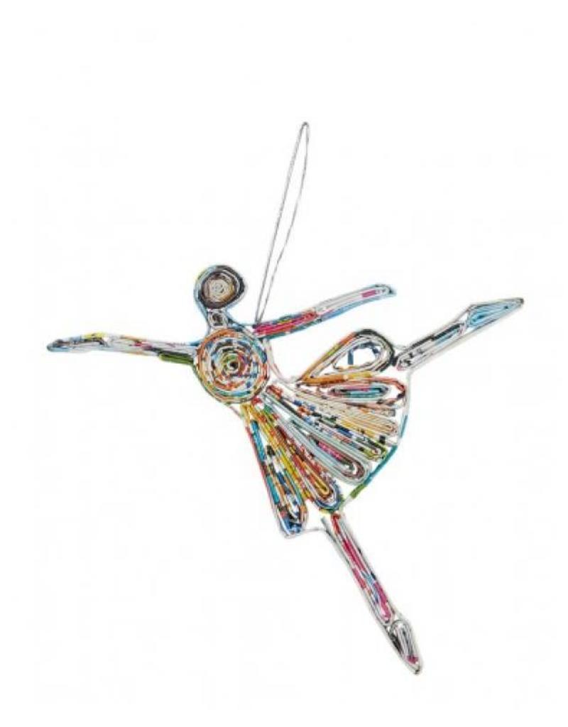 Capezio Paper Ballerina Ornament
