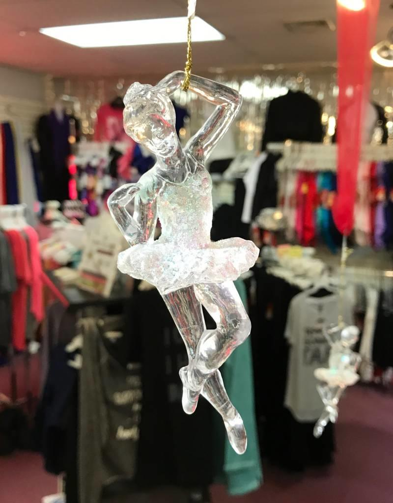 Crystal Clear Ballerina Ornament