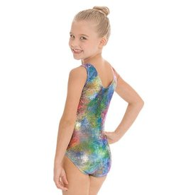 Eurotard 7689 Child Metallic Mermaid GymX Leotard