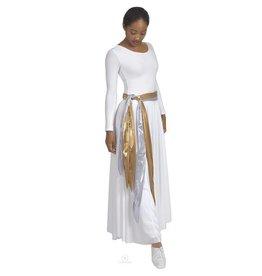 Eurotard Metallic Foil Fabric Sash 14741