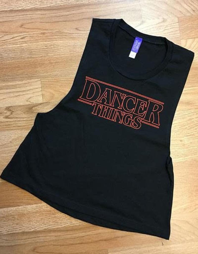 covet Dancer Things Crop Muscle T