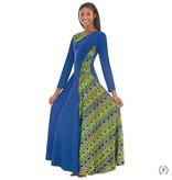 Eurotard Joyful Praise Asymetrical  Dress 63867
