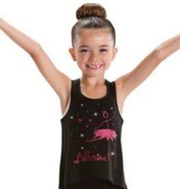 Motionwear Ballerina high low tank 4557