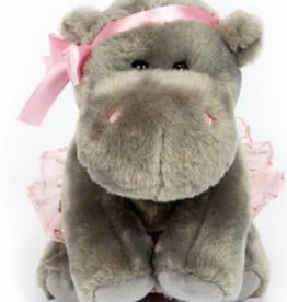 Dasha Hippo Ballerina Plush 6282