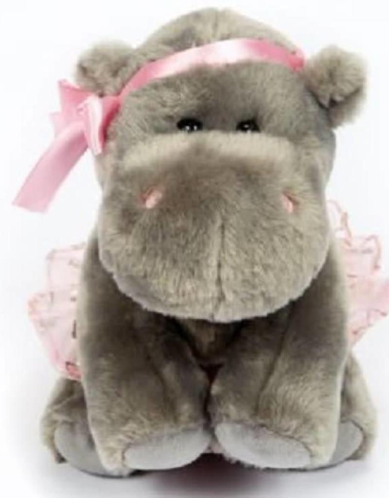 Dasha Hippo Ballerina Plush 6282