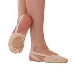 Body Wrappers Girls Leather Half Sole 621C JTN