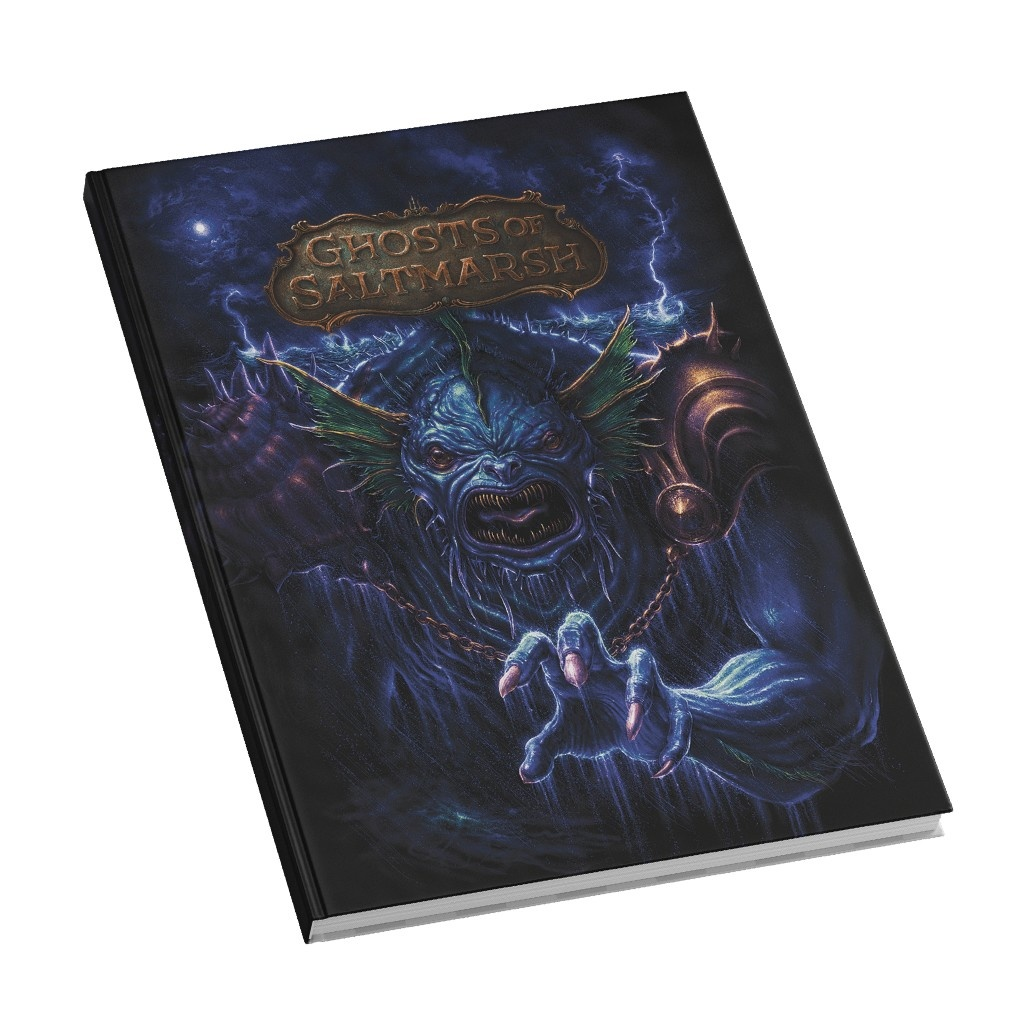Wizards of the Coast D&D 5e: Ghosts of Saltmarsh (Limited Ed.)