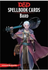 Gale Force Nine D&D 5e Spellbook Cards Bard