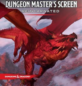Wizards of the Coast D&D 5e:  Dungeon Master's Screen Reincarnated