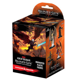 """Wizkids D&D Minis: Icons of the Realms Set 12 Baldur""""s Gate Descent into Avernus Booster"""