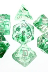 HD Dice, LLC. Nebula Green Poly Dice (7)