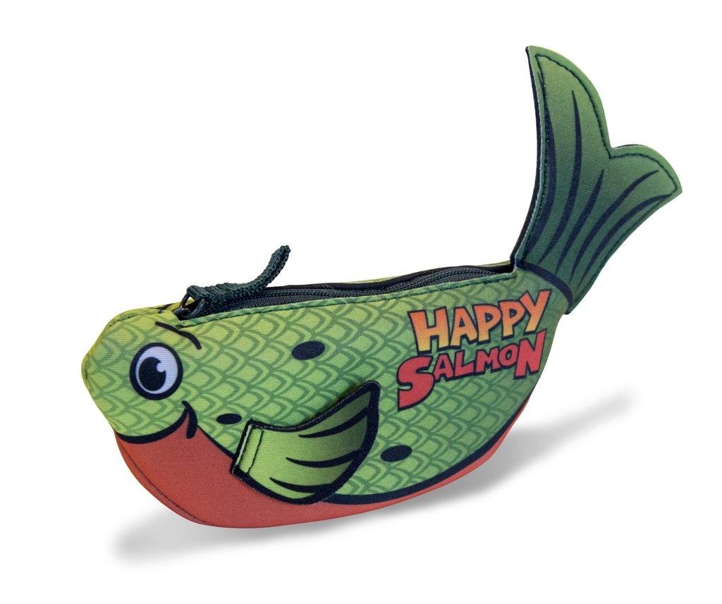 Happy Salmon Green Fish