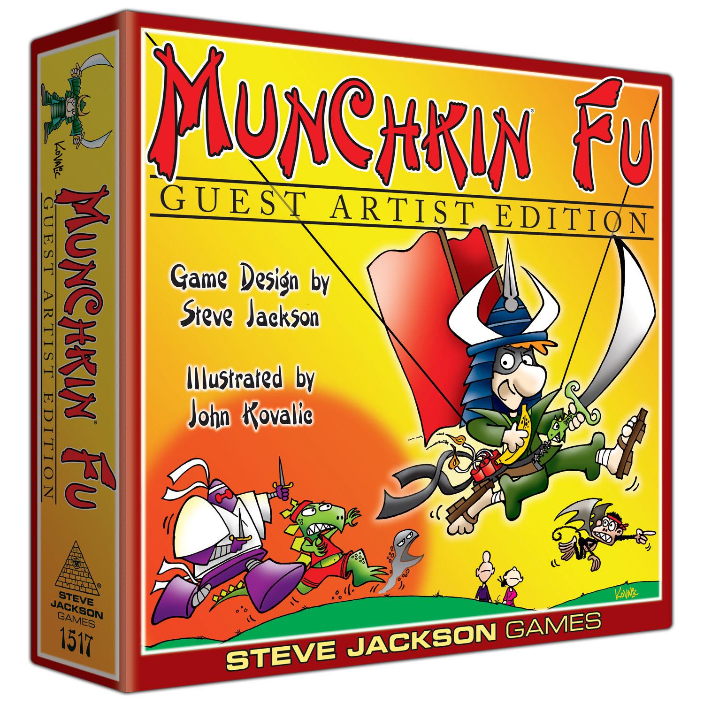 Steve Jackson Games Munchkin Fu Deluxe: Guest Artist Edition
