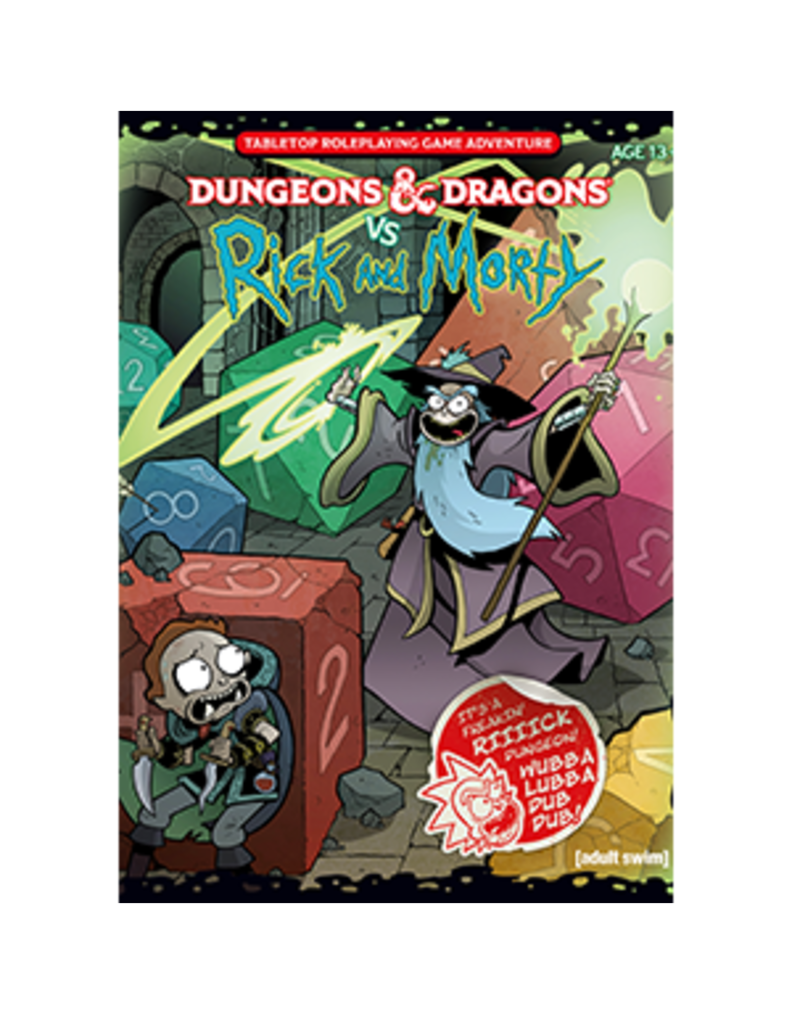 Wizards of the Coast Dungeons and Dragons RPG: Dungeons & Dragons vs. Rick and Morty - Tabletop RPG