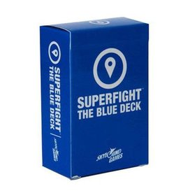 Skybound Games Superfight Location Blue Deck