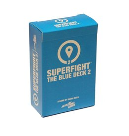 Skybound Games Superfight Location Blue Deck 2