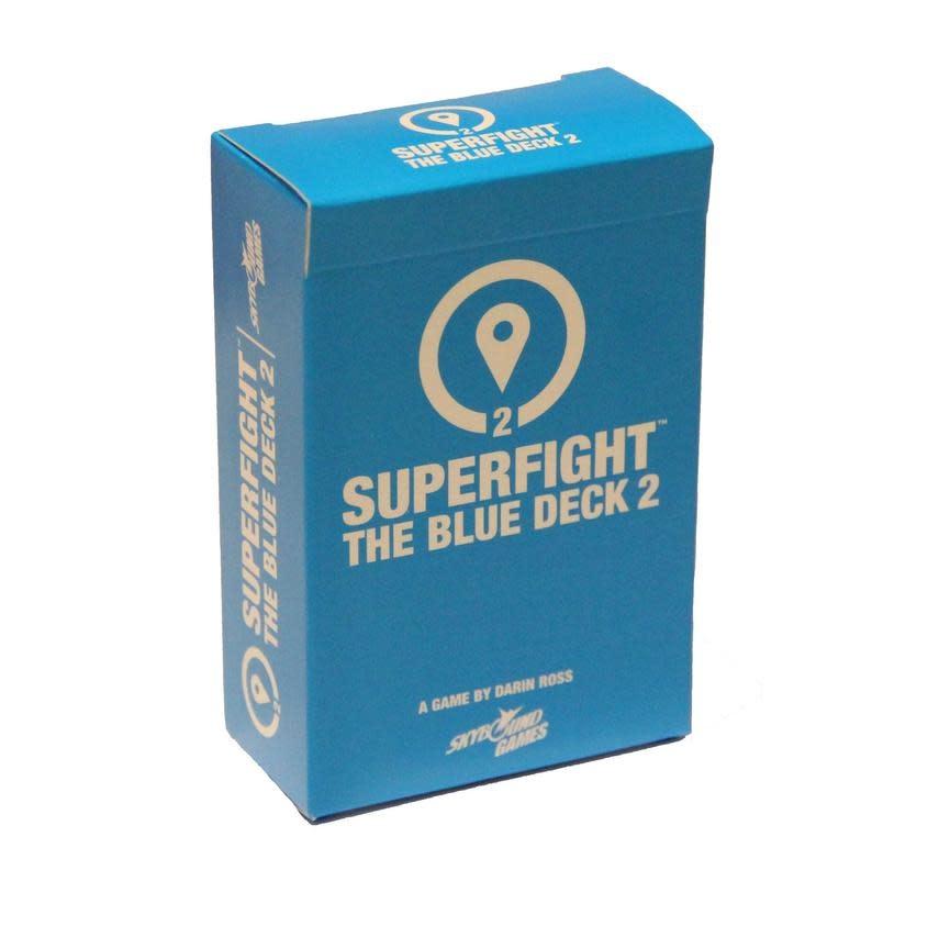 Superfight Location Blue Deck 2