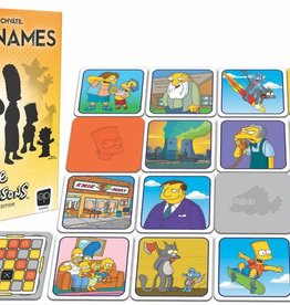 Usaopoly Codenames: Simpsons