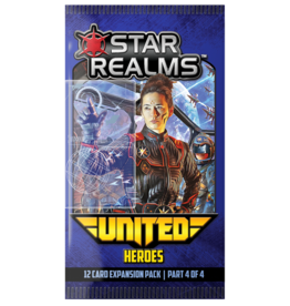 White Wizard Games Star Realms United: Heroes
