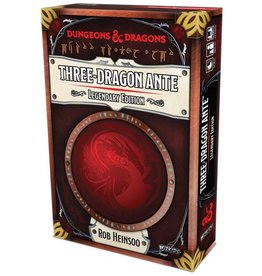 White Wizards Games Dungeons and Dragons RPG: Three-Dragon Ante - Legendary Edition