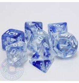 HD Dice, LLC. Nebula Blue Poly Dice (7)