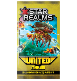 White Wizard Games Star Realms United: Command