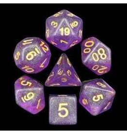 HD Dice, LLC. Purple Shimmer Dice (7)