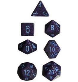 Chessex Speckled Poly Cobalt (7)