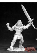 Reaper Miniatures Brand, Male Barbarian
