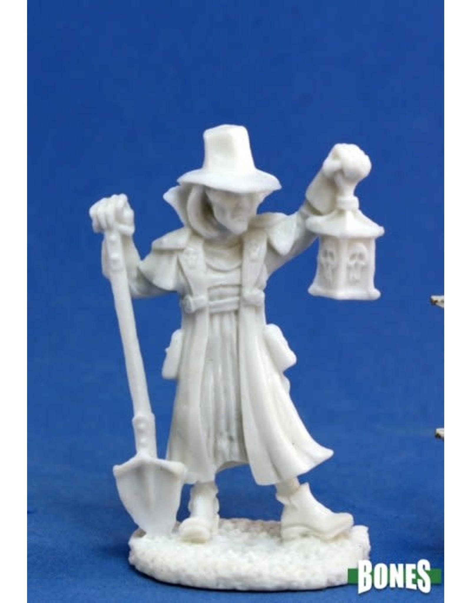 Reaper Miniatures Bones: Townsfolk: Undertaker