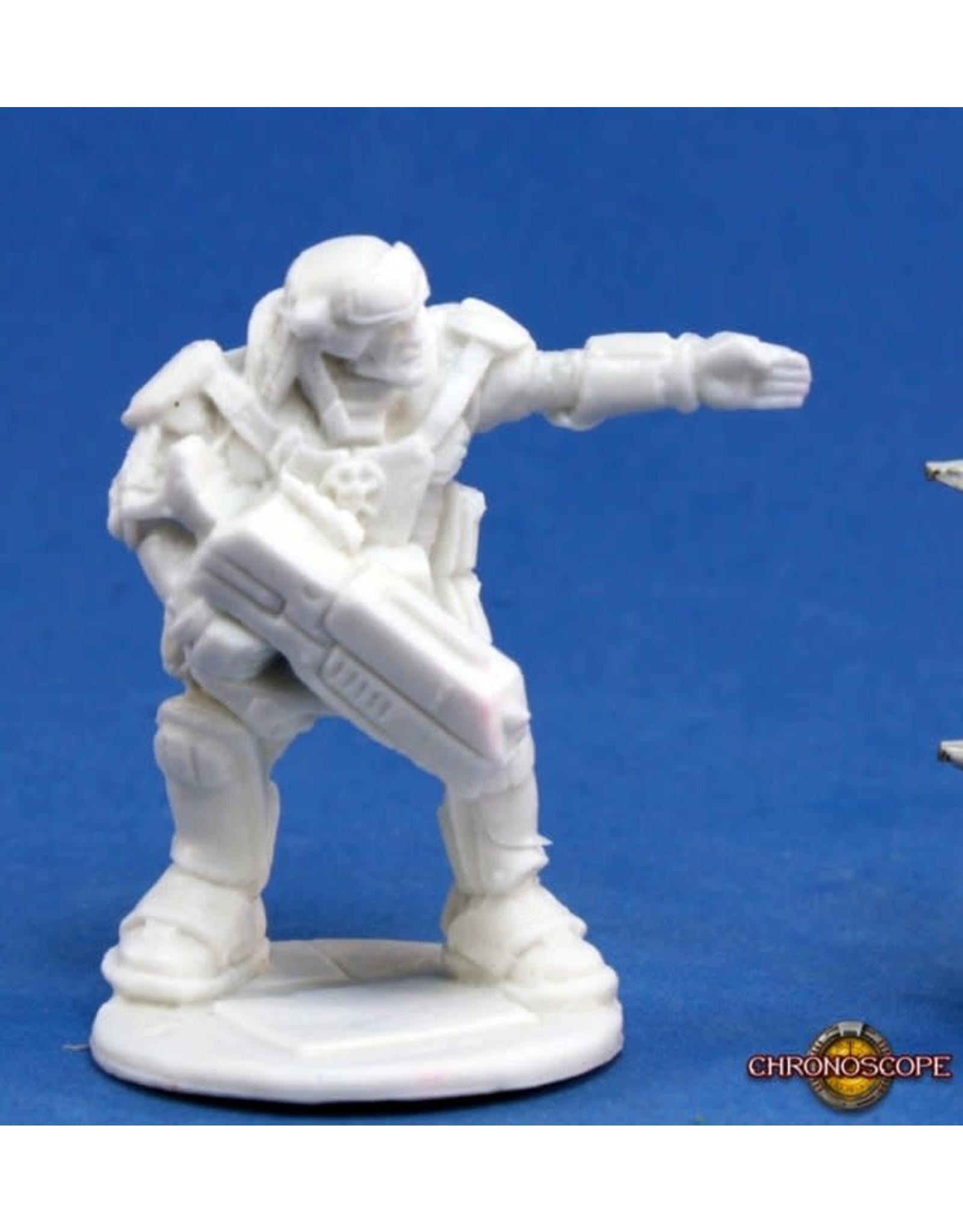 Reaper Miniatures Bones: IMEF: Erik Proudfoot