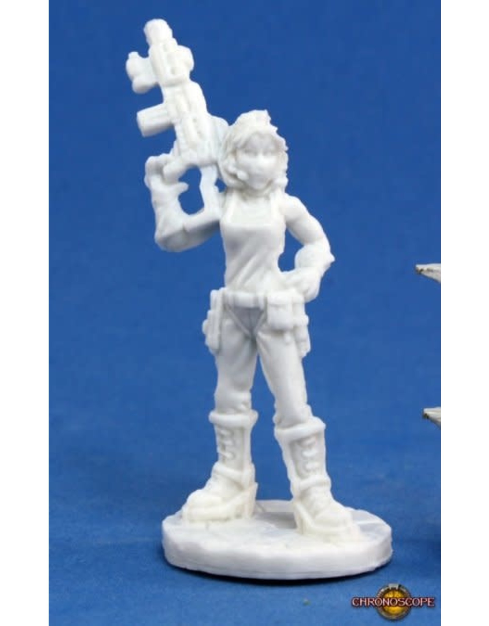 Reaper Miniatures Bones: Rosie, Chronotechnician