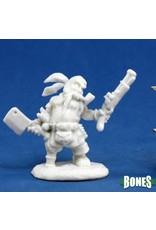 Reaper Miniatures Bones: Gruff Grimecleaver, Dwarf