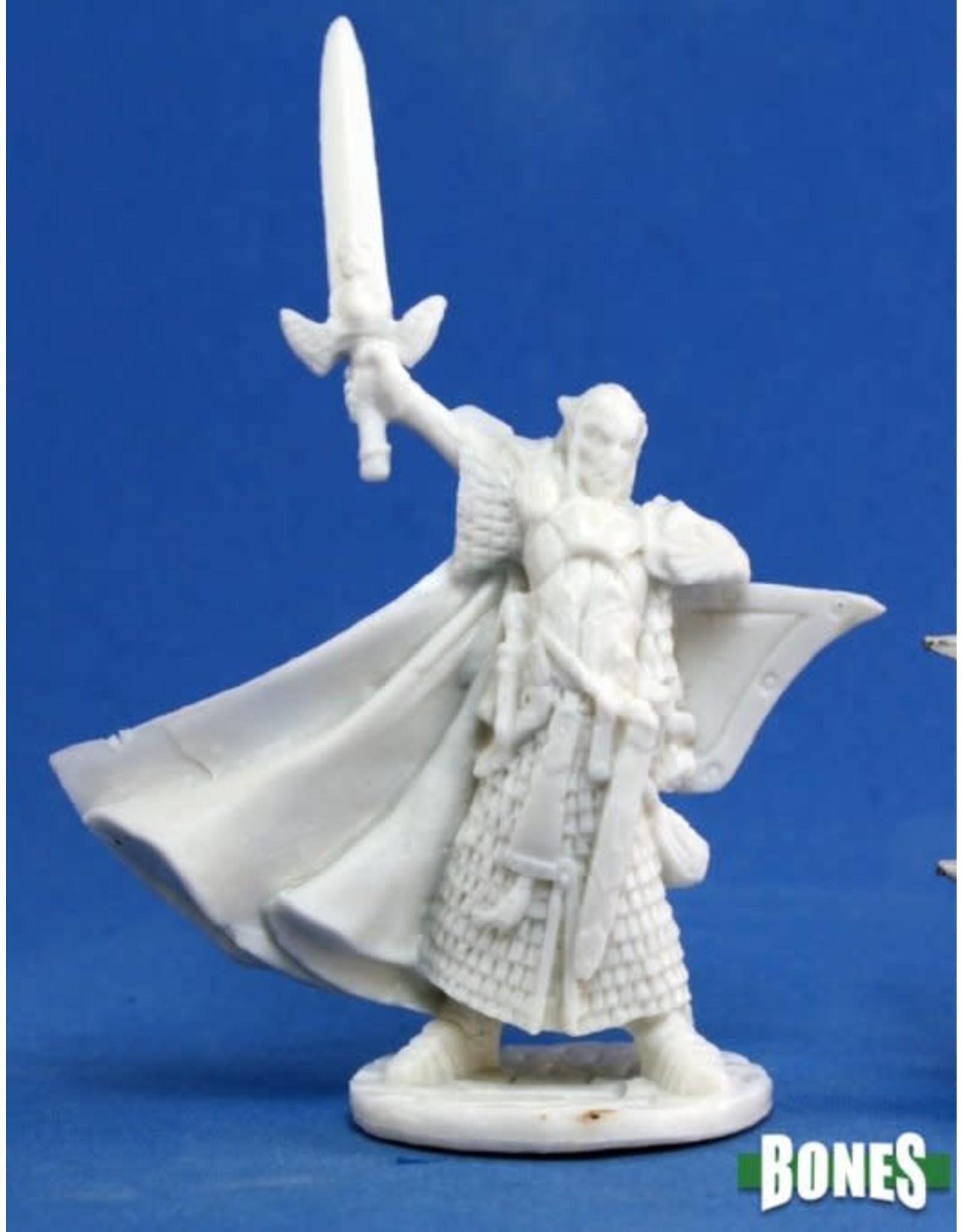 Reaper Miniatures Bones: Turanil, Male Elf Paladin