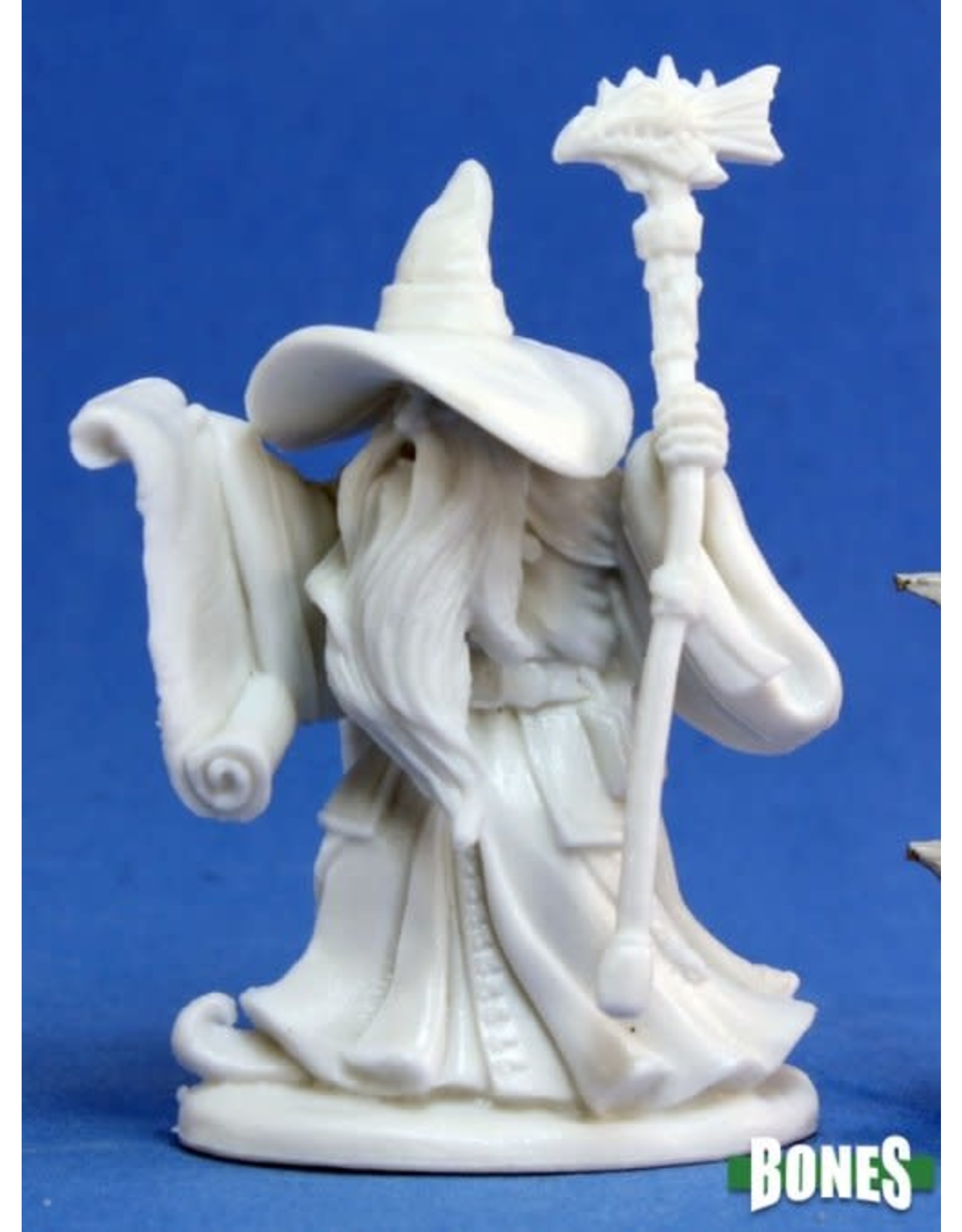 Reaper Miniatures Bones: Galladon, Male Wizard