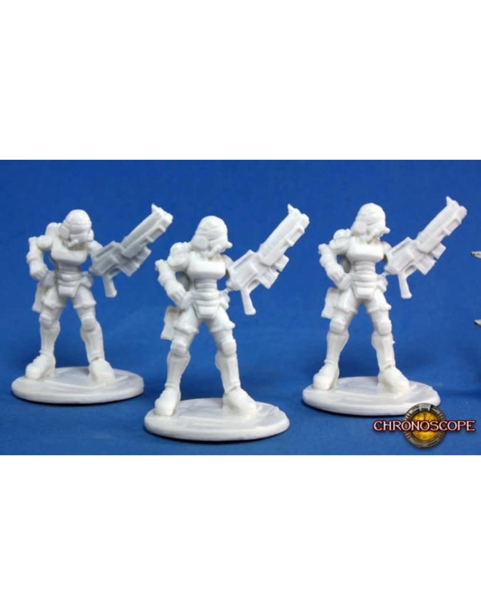 Reaper Miniatures Bones: Nova Corp: Female