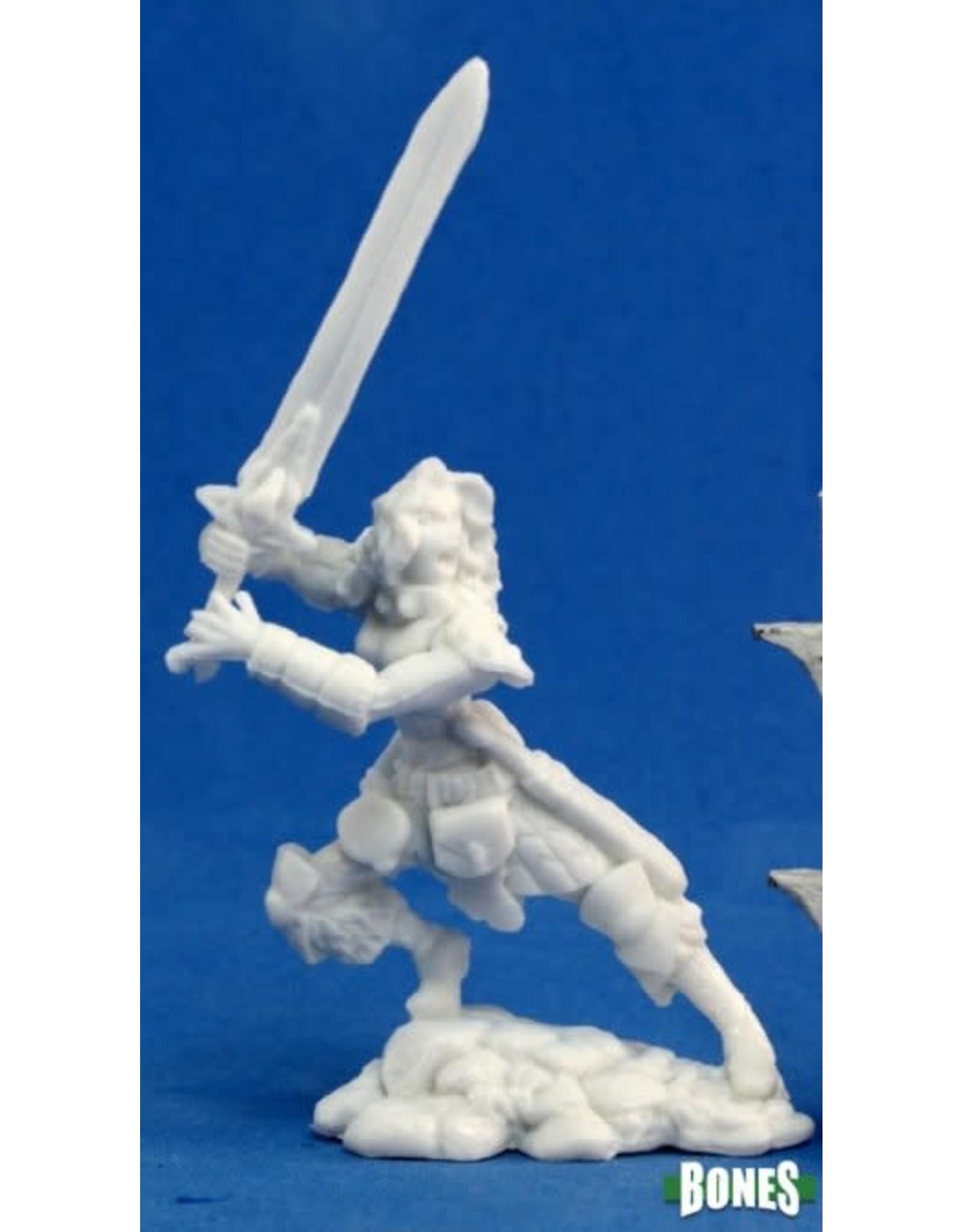 Reaper Miniatures Bones: Deenah, Female Barbarian