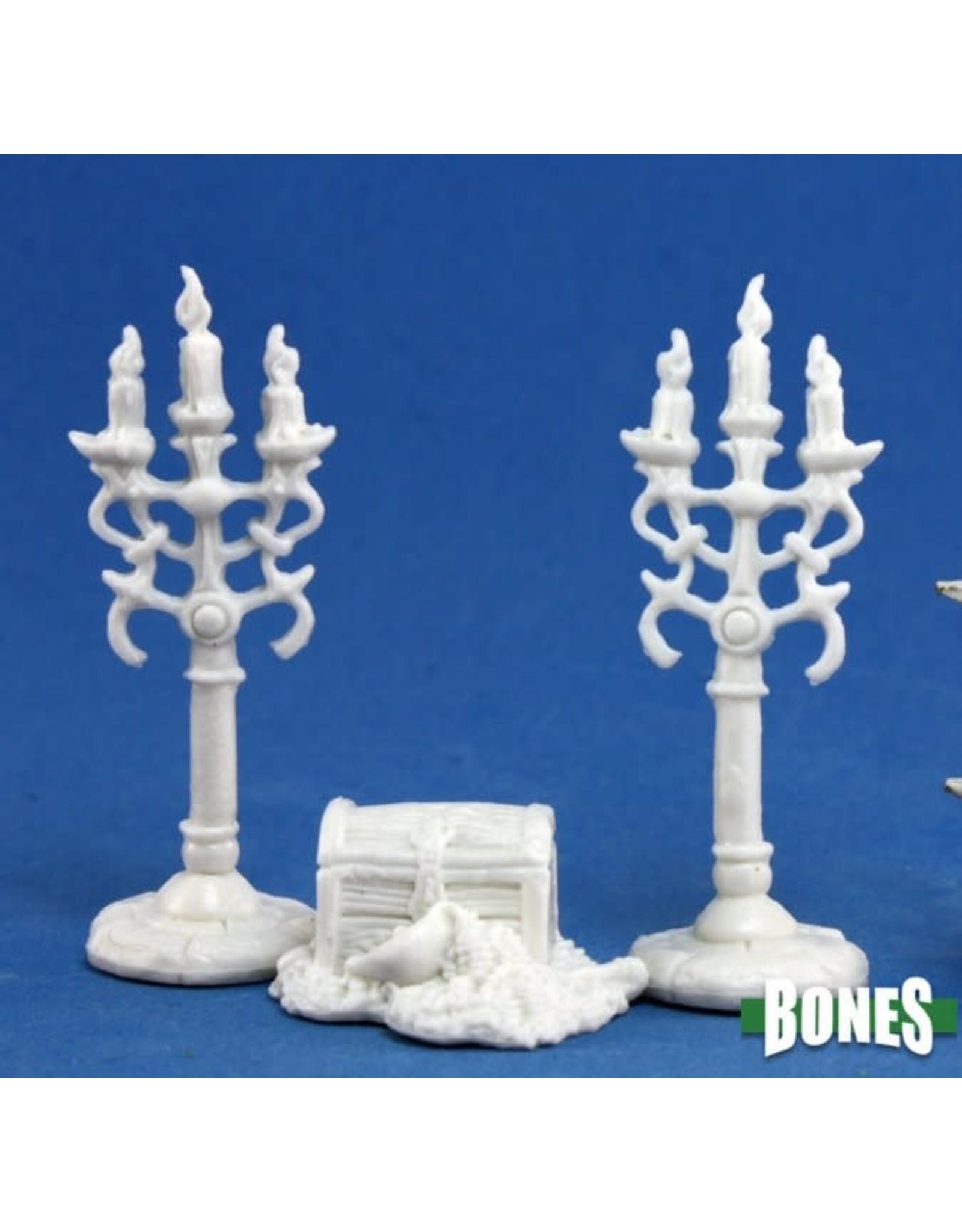 Reaper Miniatures Bones: Treasure & Candleabra
