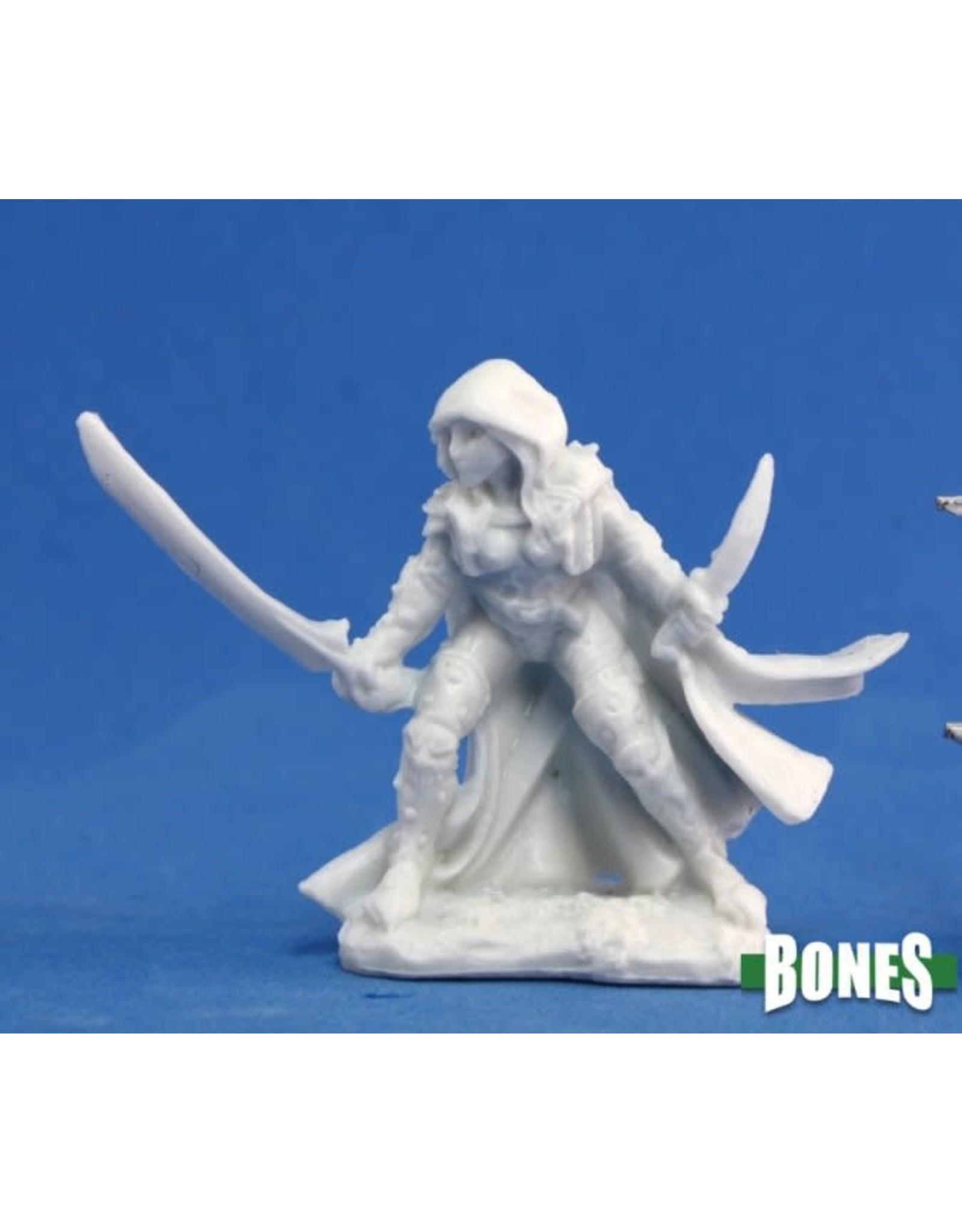 Reaper Miniatures Bones: Deladrin, Female Assassin