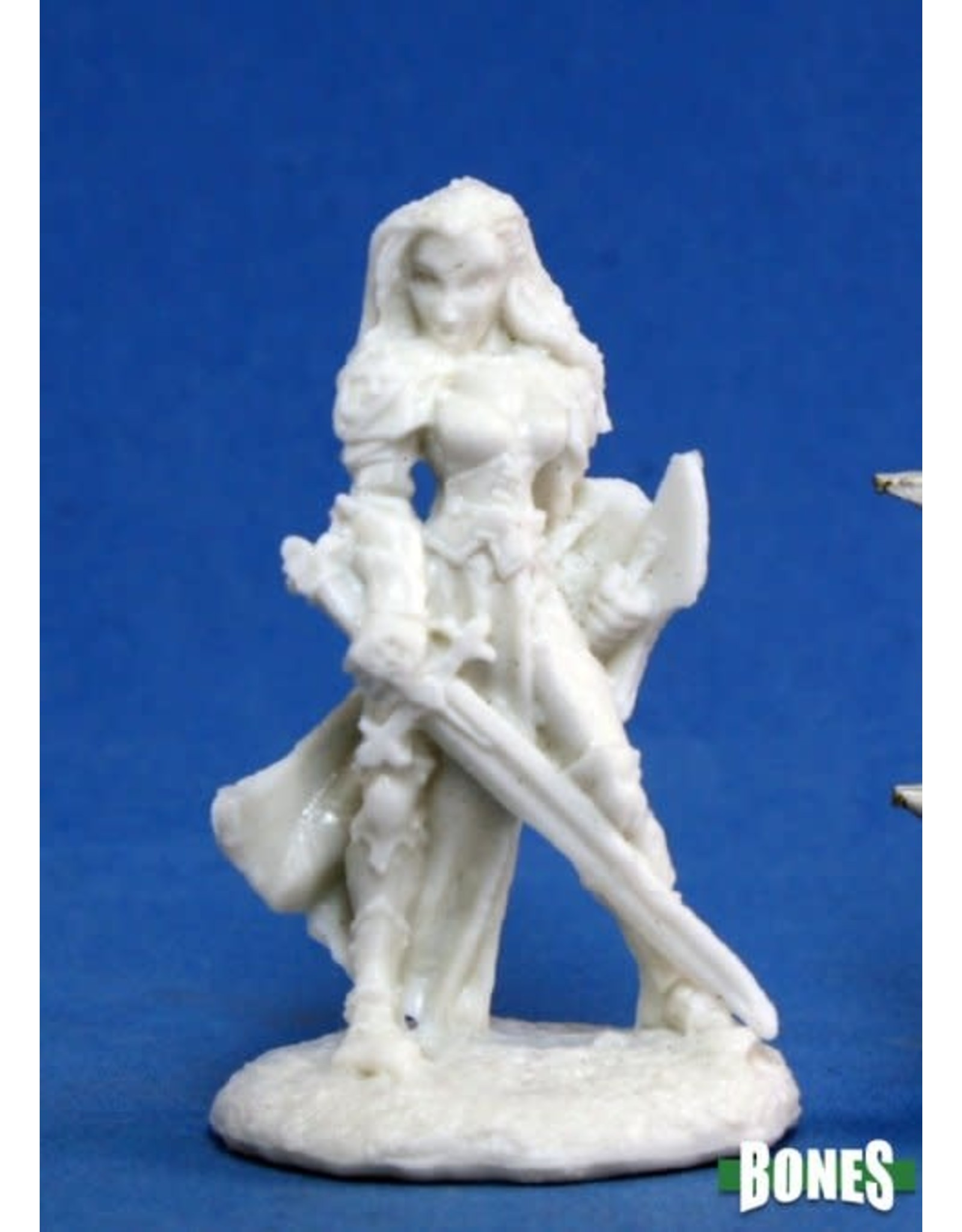 Reaper Miniatures Bones: Finari, Female Paladin