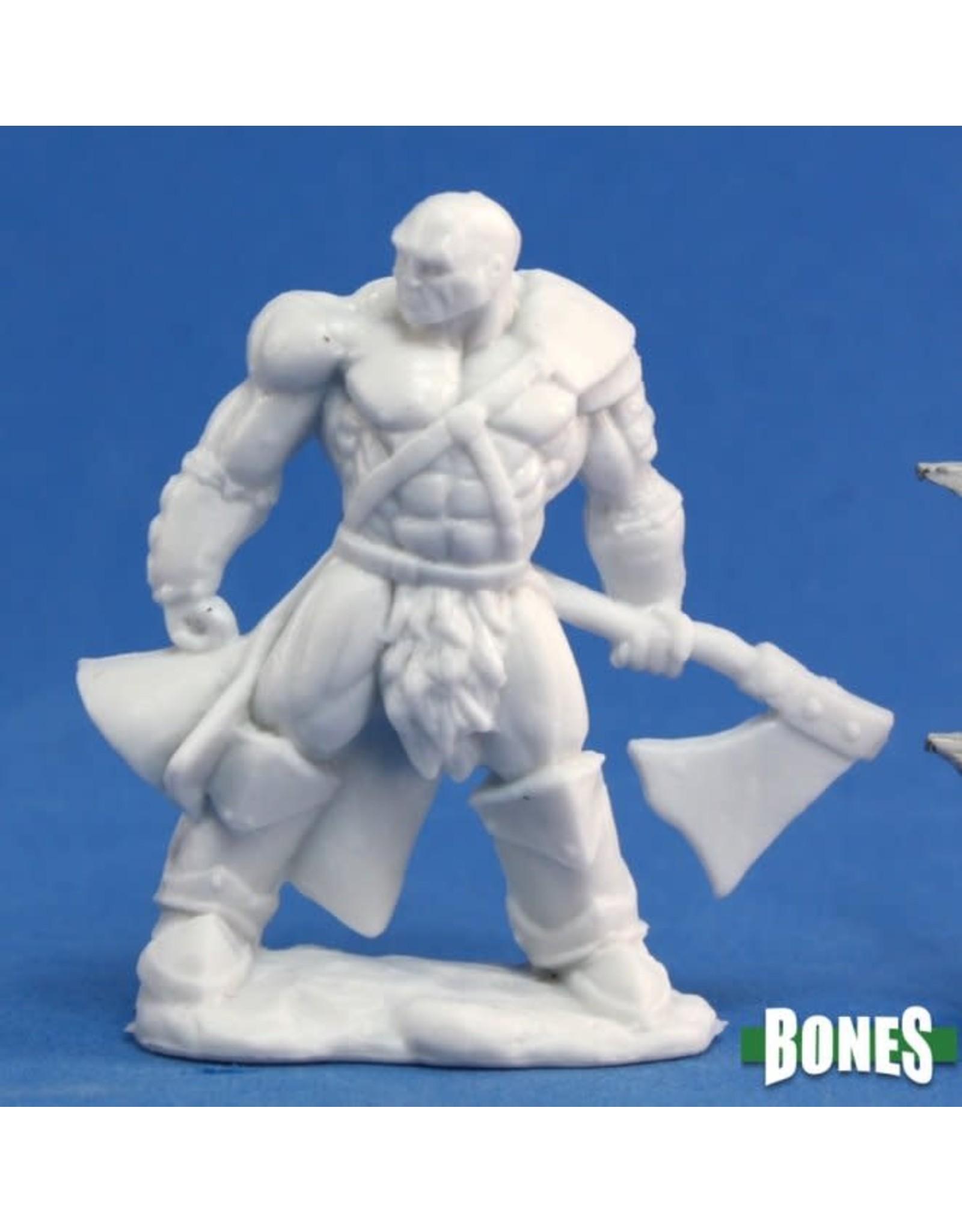 Reaper Miniatures Bones: Goldar, Male Barbarian