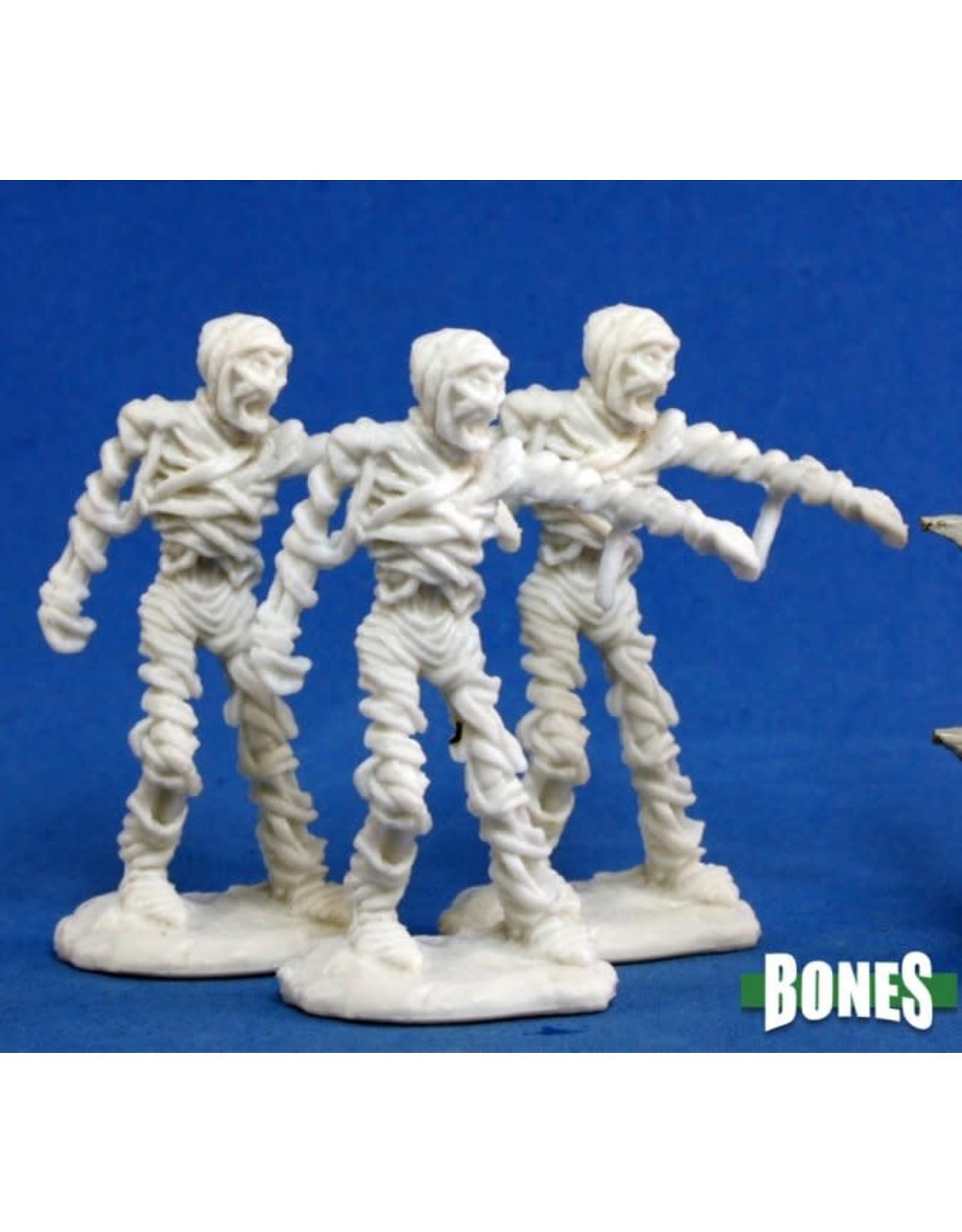 Reaper Miniatures Bones: Mummy (3)
